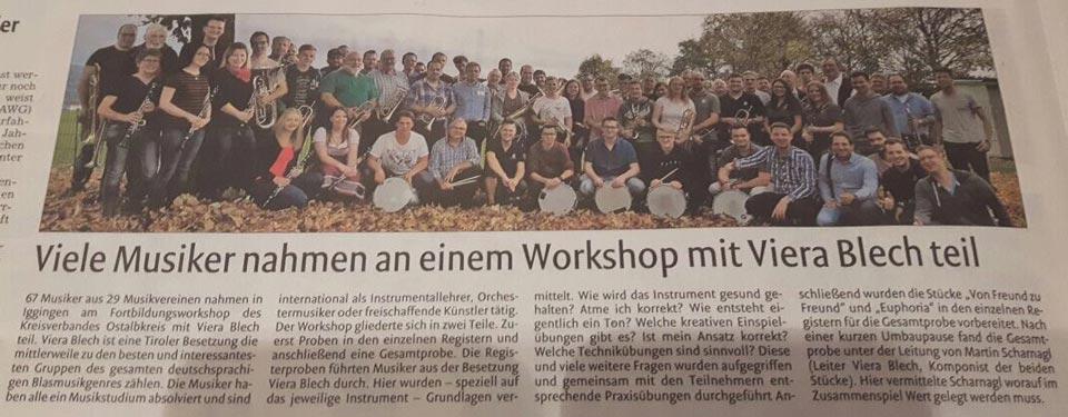 Rems-Zeitung Workshop Viera Blech Nachbericht vom 27.10.2017