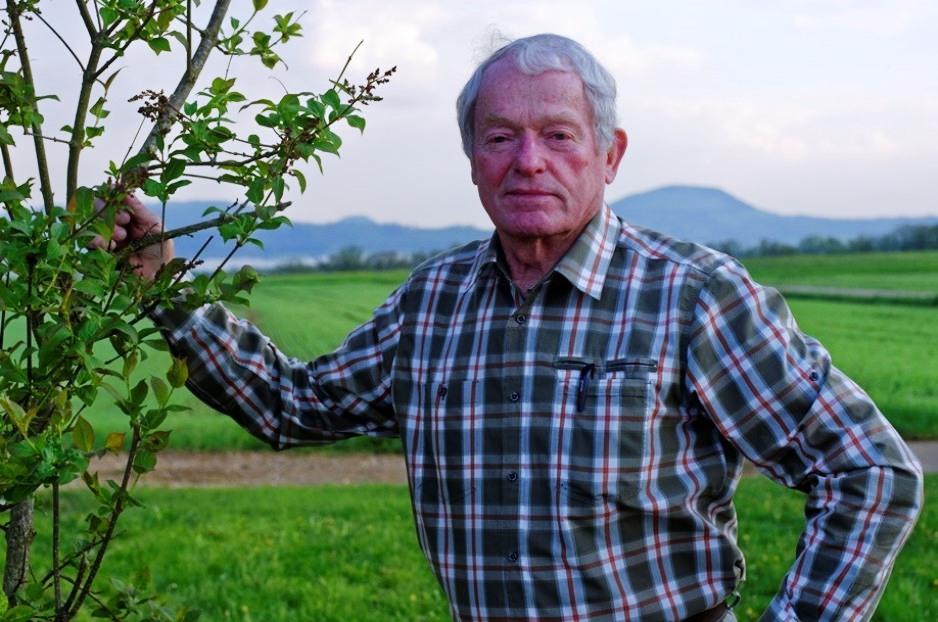 Ehrenvorsitzender Albert Heinzmann